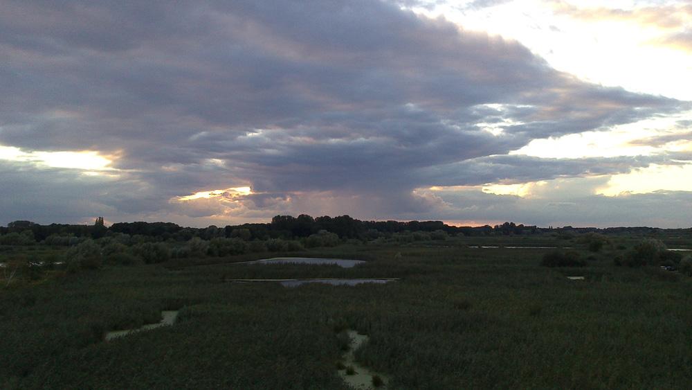 Dramatischer Sonnenuntergang...