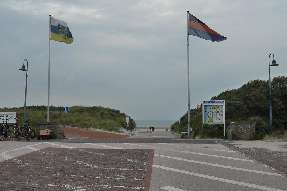 Zugang zum Strand.