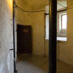 Natürlich sind die Räume rund. Hier sind noch Reste aus der Zeit als Wasserturm zu sehen.