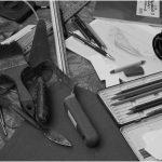 Werkzeuge eines Ur- und Frühgeschichtlers.
