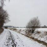 Winterlandschaft bei Münster.