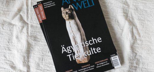 """Neue Ausgabe der Zeitschrift """"Antike Welt""""."""